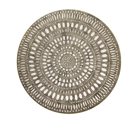Mandala Placemats Gold Set/4