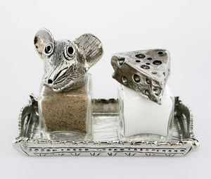 Mouse and Cheese Salt and Pepper Set