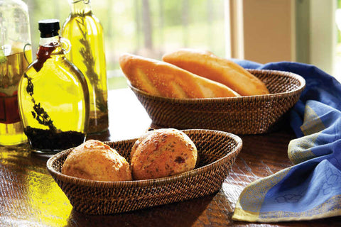 Oval Bread Basket Large