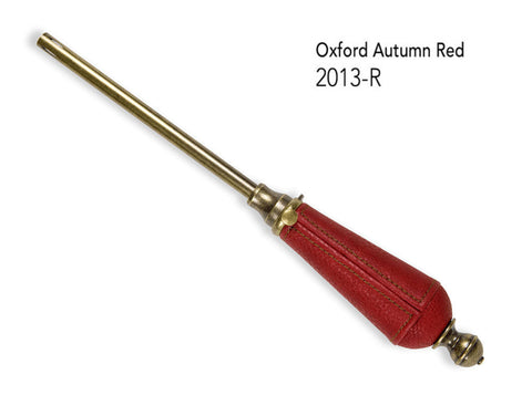 Oxford Autumn Red/w Antique Bronze Refillable Lighter