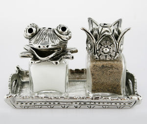Frog Prince Salt and Pepper Set