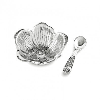 GRAB & GO Garden Petit Bowl Flower with Spoon