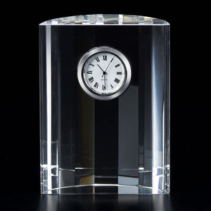 Crystal Clock Half Moon