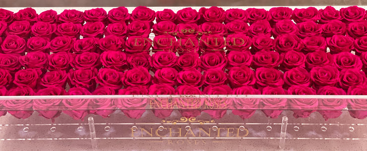 Romance Luxury Collection - Pink Ruby Roses