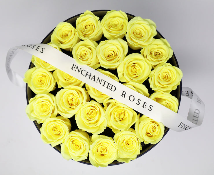 Wish Box Collection - Bright Yellow Roses