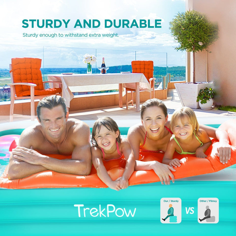 TrekPow Inflatable Swimming Pool Green