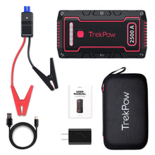 Load image into Gallery viewer, TrekPow TJ2500 2500A Auto Battery Booster Jump Starter