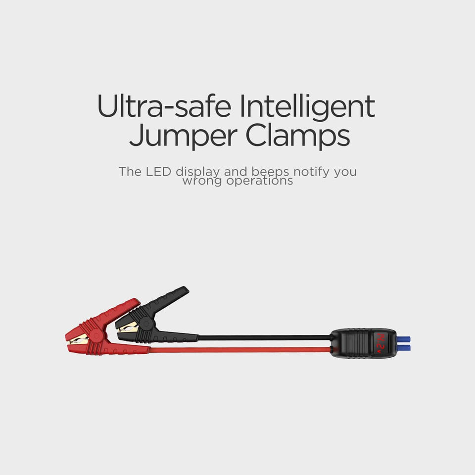 LED Jump Clamps