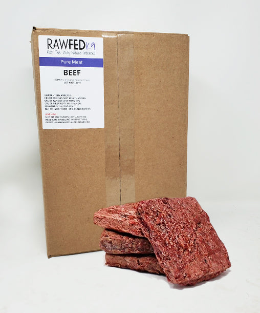 Pure Raw Dog Food Patties