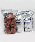 Bags of Frozen Raw Pet Food