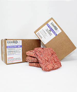 Sample Premium Raw Dog Food