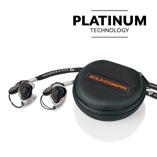 Custom Electronic Hearing Protection – Platinum