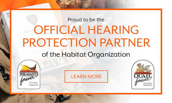 Proud to be the official hearing Protection partner of the Habitat Organization. Click to learn more.