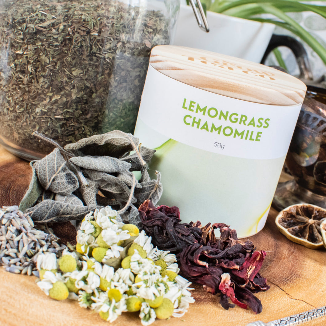 Lemongrass and Chamomile *Organic*