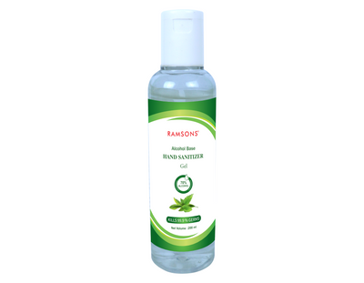Ayurvedic Hand Sanitizer Gel - 200ml (Pack of 2)