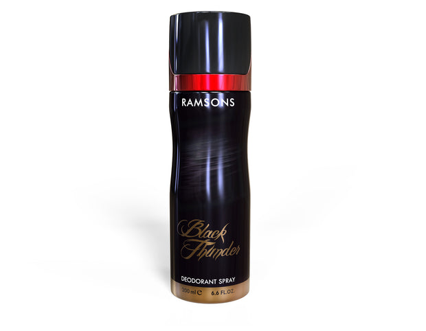 Black Thunder Deodorant Spray - 200 ml