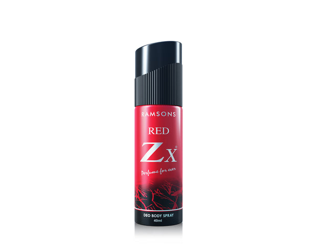 Red Zx, Rhymes & Bullet Deo Body Spray (Pack of 3) - 40 ml each
