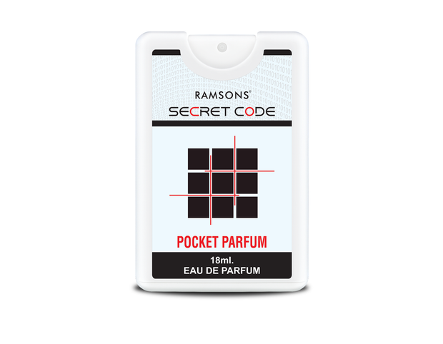 Bravo, Secret Code & Sexy Heart Pocket Perfume (Pack of 3) - 18 ml each
