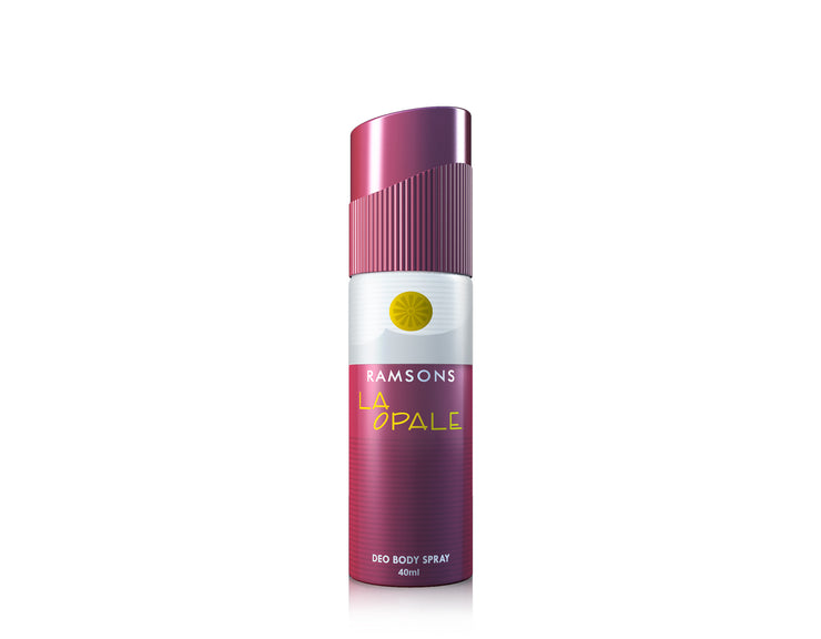 Rhymes, La Opale & Cool Spark Deo Body Spray (Pack of 3) - 40 ml each