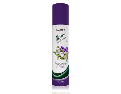 Natura 2 in 1 Air Freshener - Rajanigandha & Freesia - 250 ml