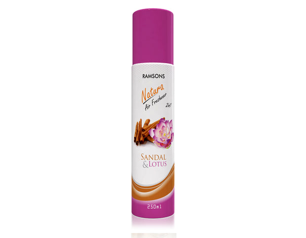 Natura 2 in 1 Air Freshener - Sandal & Lotus - 250 ml
