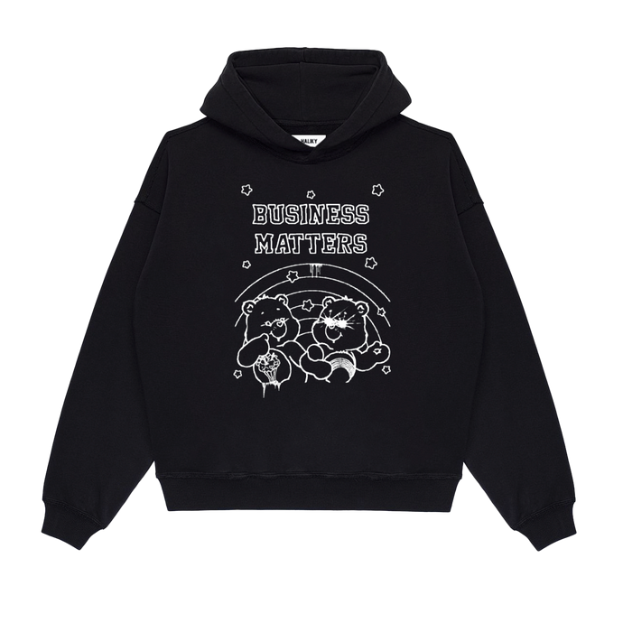 Glow in the Dark Business Matters Hoodie