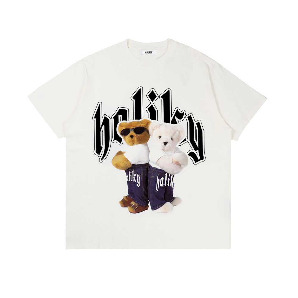 Gang Bears White Tee