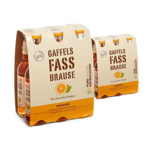 Gaffels Fassbrause Orange 12 x 0,33l