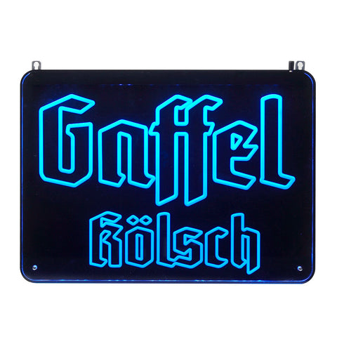 Gaffel Neon-Art LED Sign (gross)