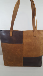 Suede & Leather Bag