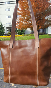 Leather Tote Bags (four color options)