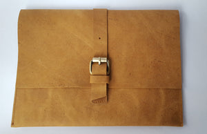 Nubuck Soft Leather Clutch