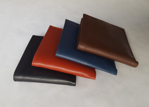 Genuine Leather Wallets (four colors)