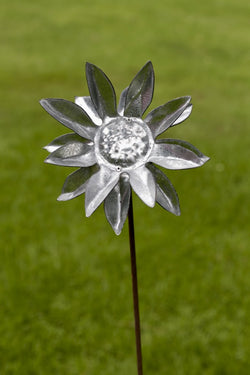 Stainless flower closeup