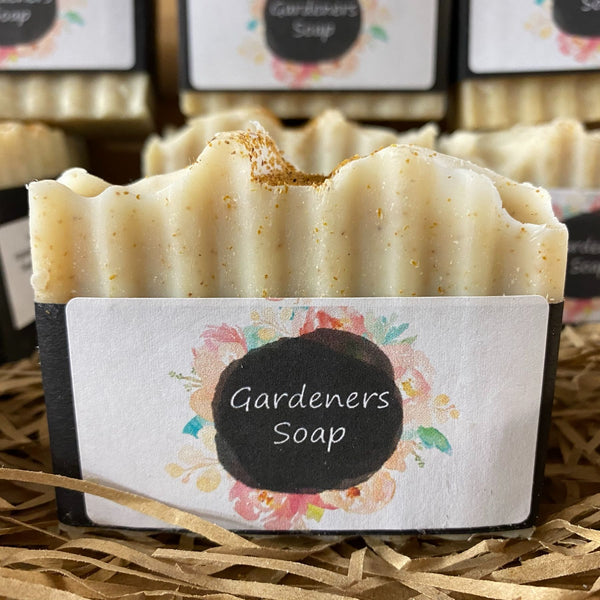 Gardeners Soap - Lemongrass and Ginger