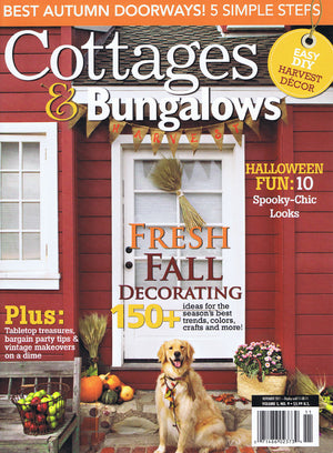 Cottages & Bungalows - Fresh Fall Decorating