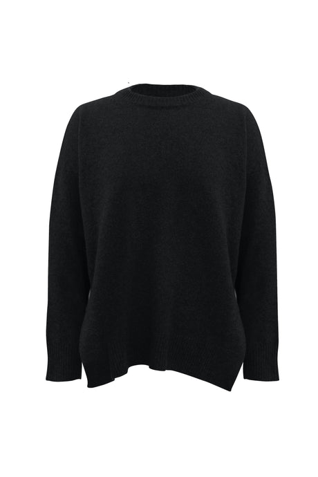 Black Farm Sweater