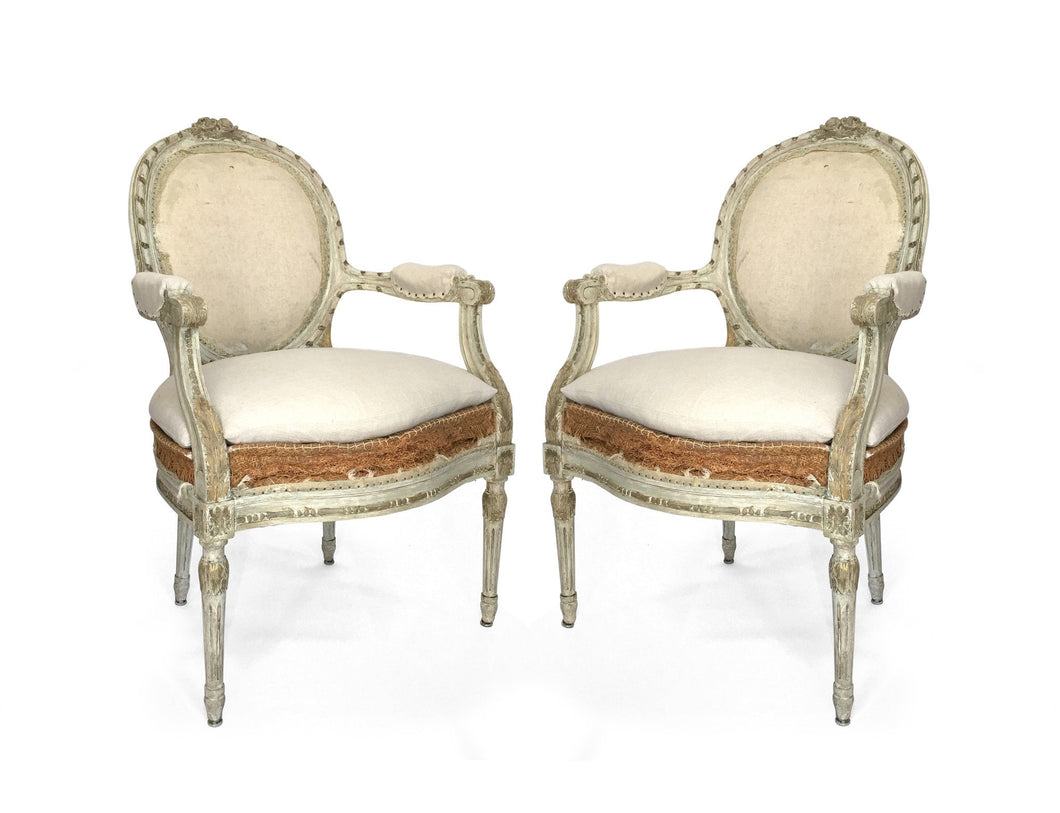 BELGIAN ARM CHAIRS