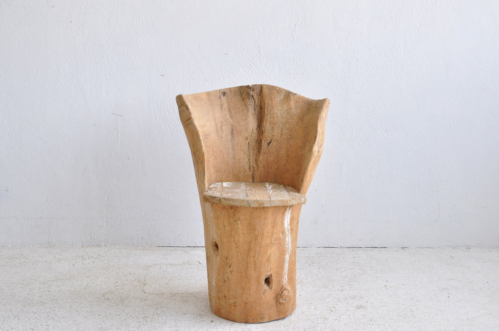 PRIMITIVE LOG CHAIR #1