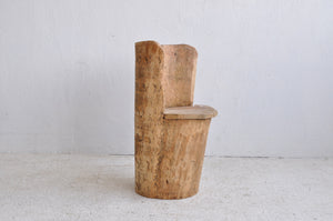 PRIMITIVE LOG CHAIR #2