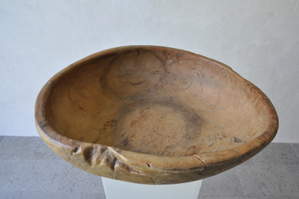 LARGE PINE ROOT BOWL
