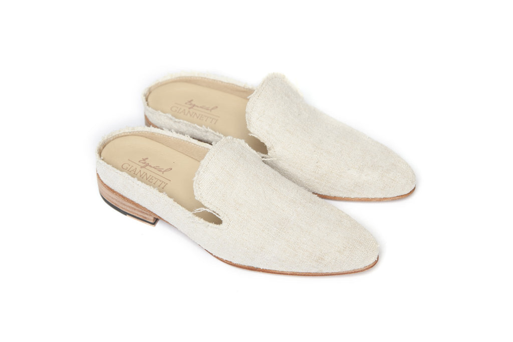 ESQUIVEL X GIANNETTI (LINEN EXCLUSIVE) SHOES