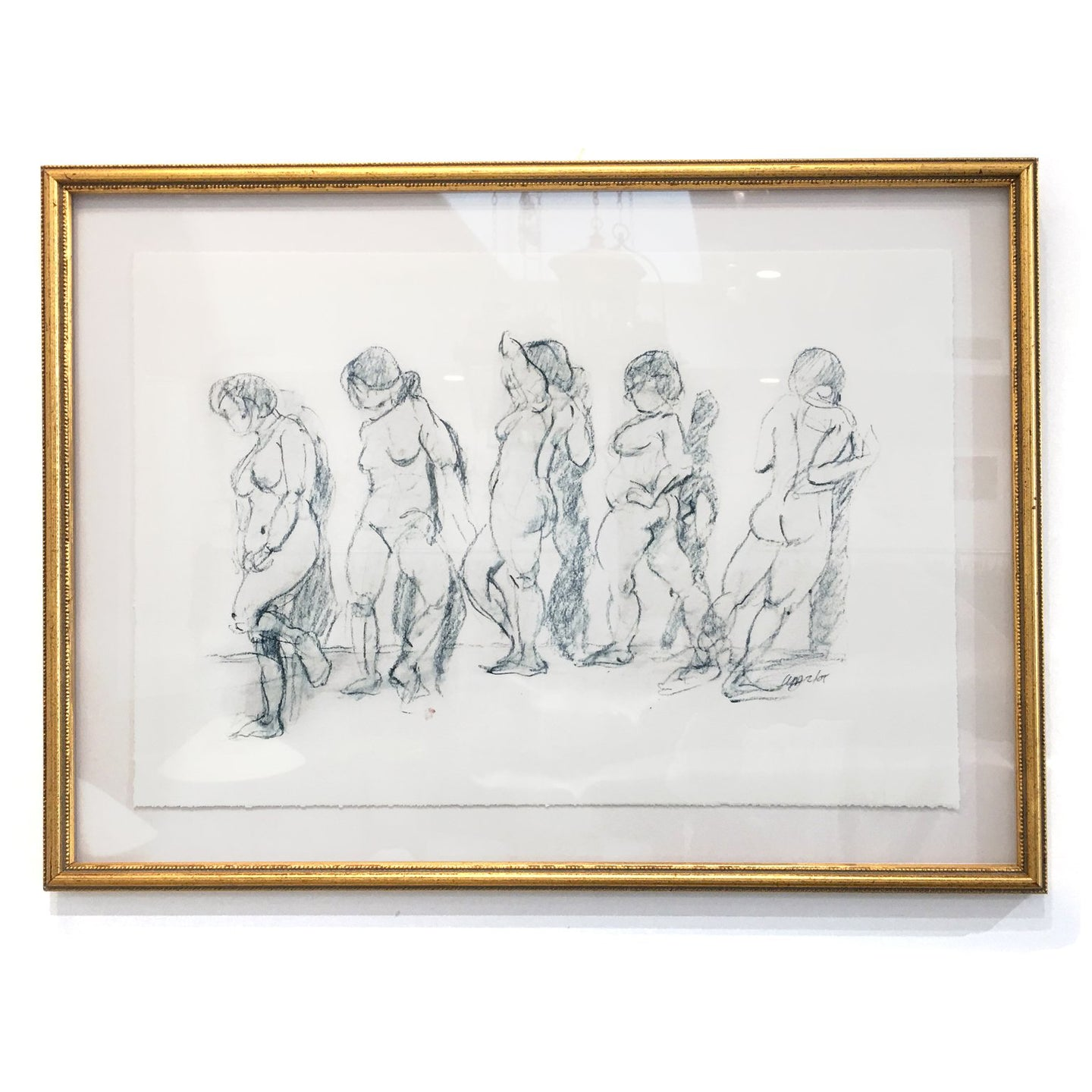FRAMED DRAWING BY STEVE GIANNETTI