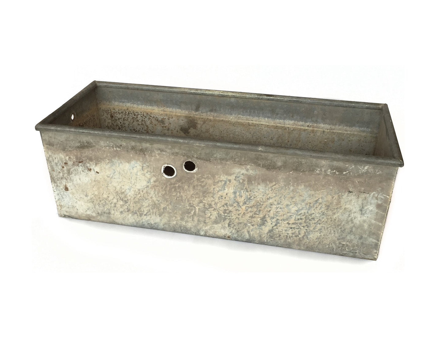 GALVANIZED ZINC TROUGH