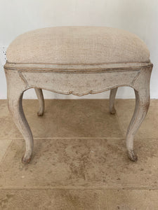 "PAIR OF SWEDISH ROCOCO STOOLS ""ON HOLD"""
