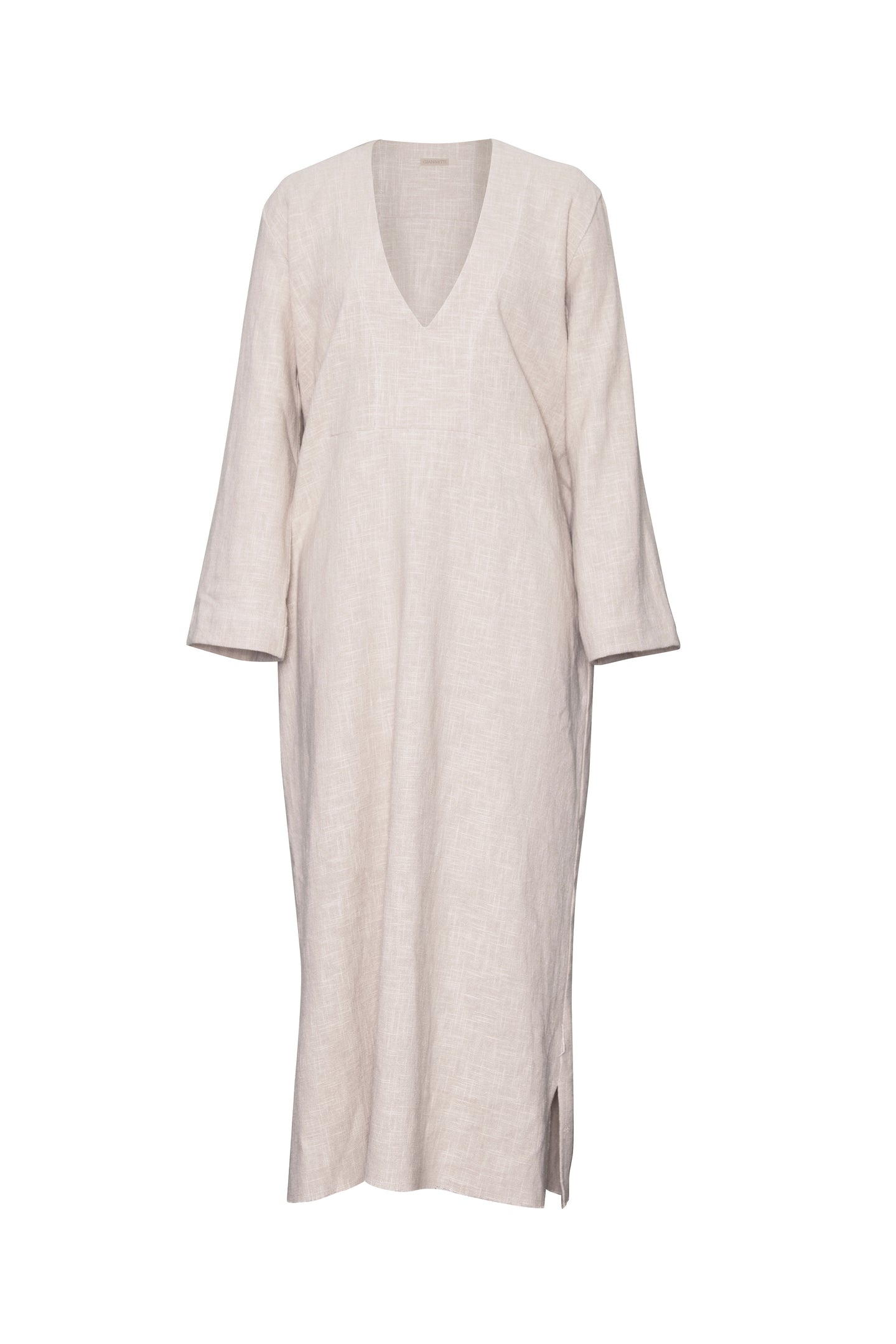 GIANNETTI NATURAL LINEN CAFTAN