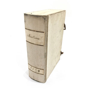 ITALIAN MARBLEIZED DOCUMENT BOX - WHITE