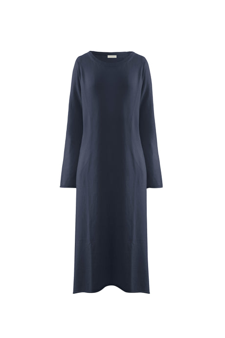 Indigo Cashmere Dress