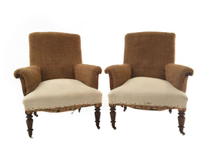 PAIR OF NAPOLEON III BERGERES