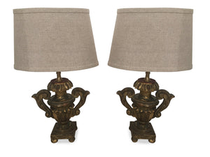 "PAIR OF LAMPS ""ON HOLD"""
